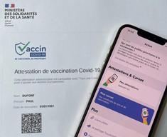 ATTESTATION DE VACCINATION A IMPORTE DANS TousAntiCovid Carnet